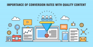importance of conversion rates with quality content