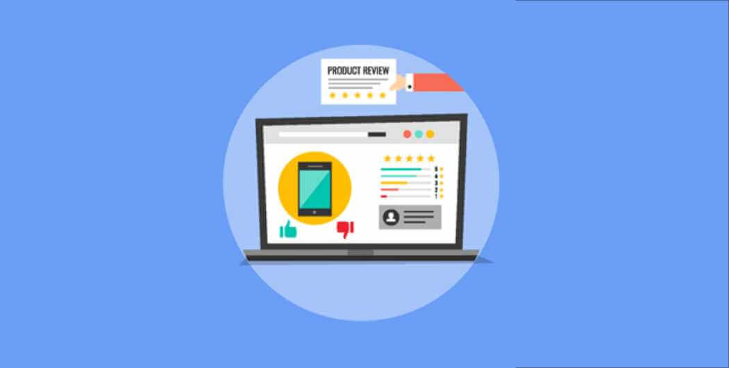 Allow product reviews on your website