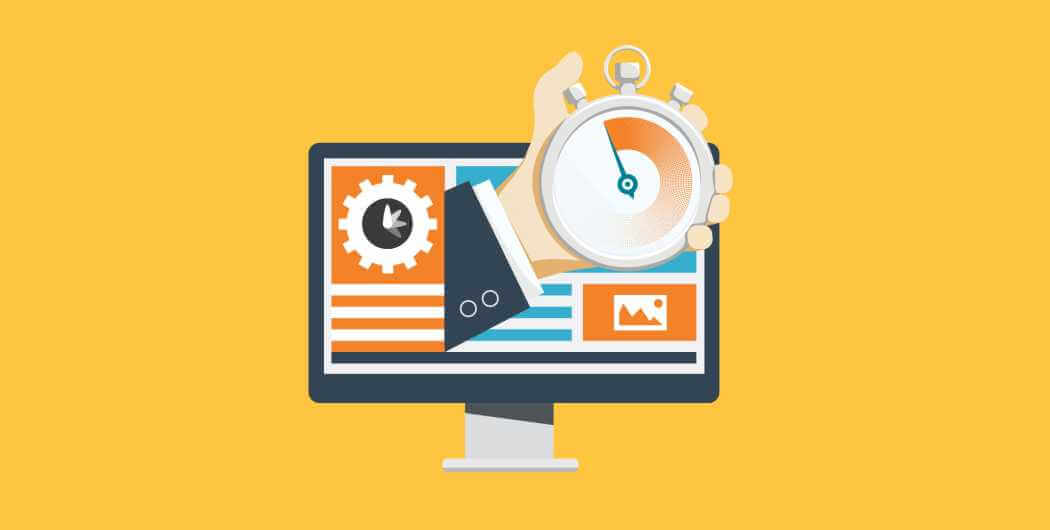 What should be the average page load time for a website